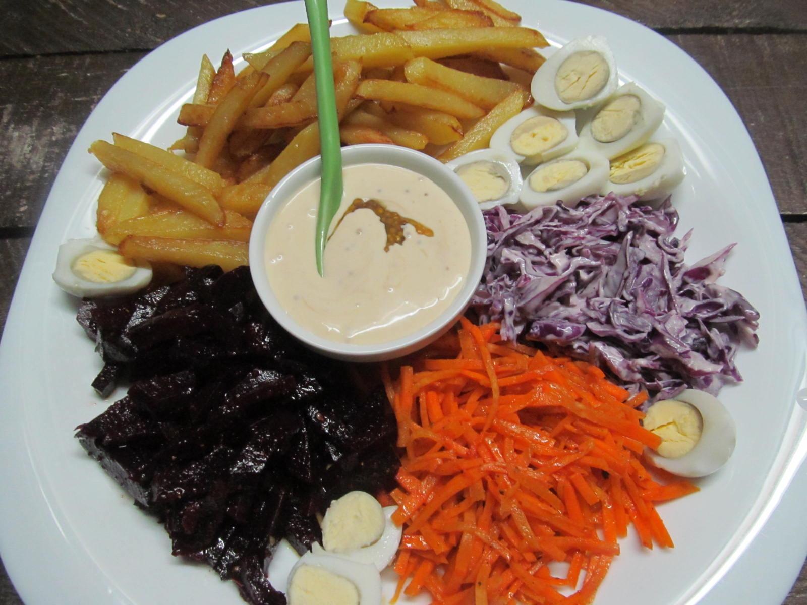 Салат козел в огороде рецепт пошаговым фото