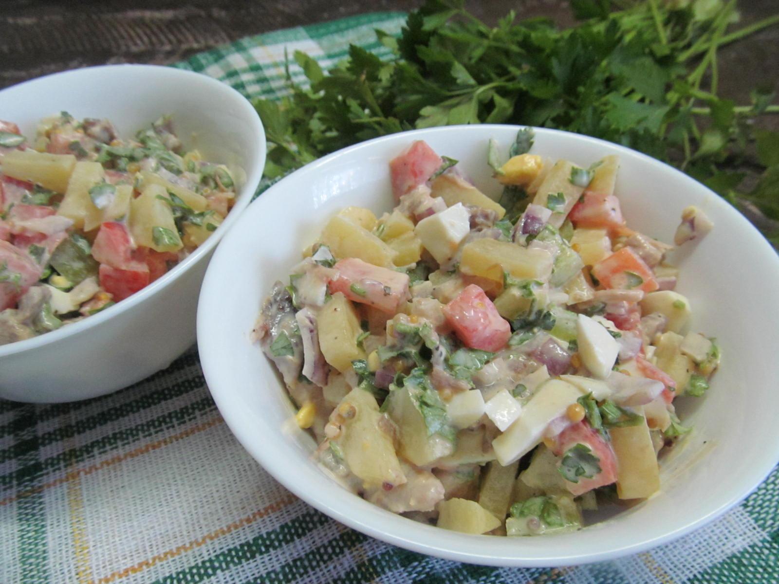 Красивые салаты для детей фото рецепт