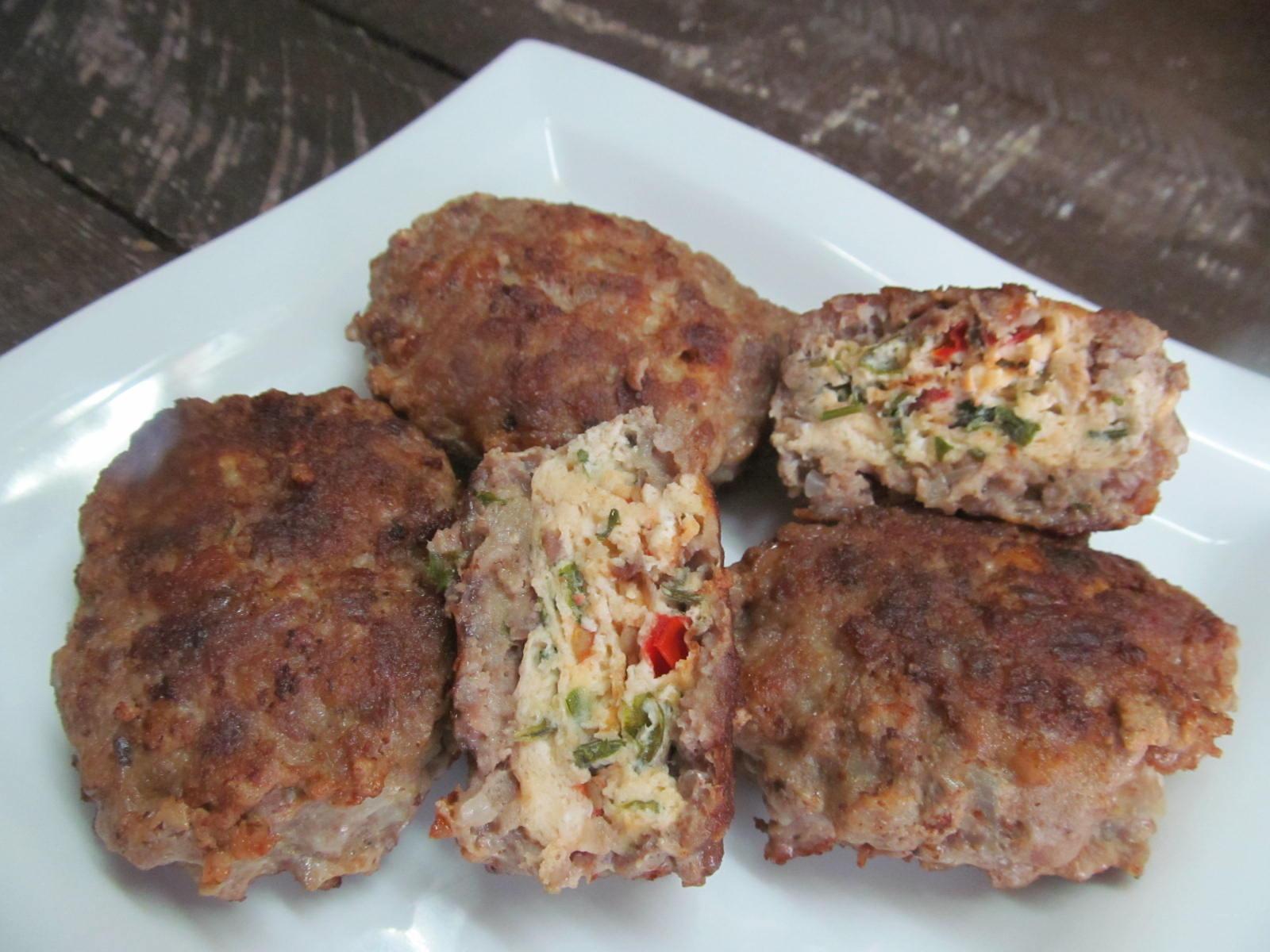 Мясные зразы с омлетом Кулинарный сайт